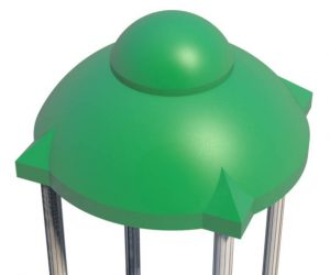 Dome Roof for Playground | Roto Molded Plastic Roof | Henderson Recreation