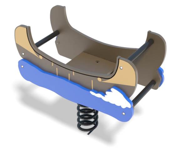 Canoe Motion Toy