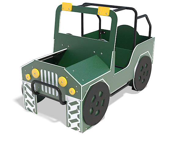 4 X 4 play vehicle for playground