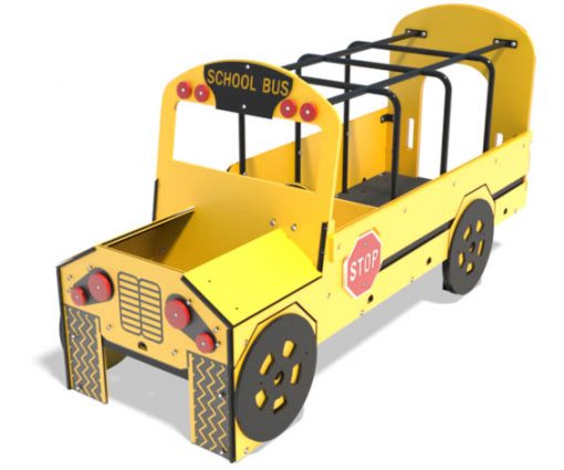 School Bus Play Vehicle for Playground | Henderson Recreation