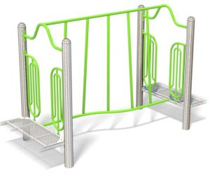 TWISTY LINK for playground | Henderson Recreation