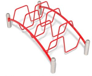 S Link Playground Equipment | Alternating Climbing Event