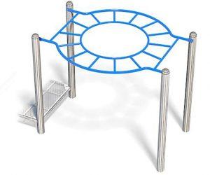360° Overhead Ladder Play Equipment | Extra Long Overhead Ladder