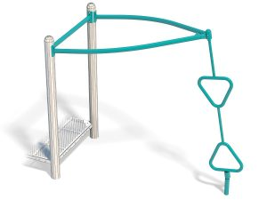 Hourglass Spinner For Playground Fun | Commercial Playground Fun Equipment