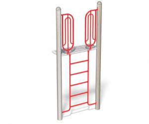 Deck Ladder For Playground | Climbing Ladder With Safety