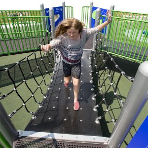 Flubber Bridge for playground | Henderson Recreation