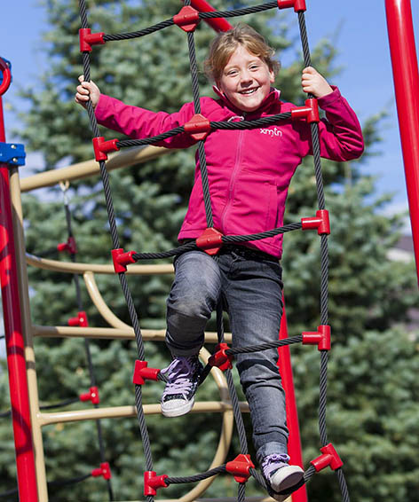 How can innovative commercial playground equipment help in children's development?