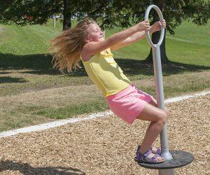Stand up playground spinner- HendersonPlay