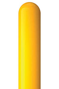 Yellow Support Post