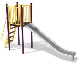 6ft Stainless Slide and Ladder | Henderson Recreation