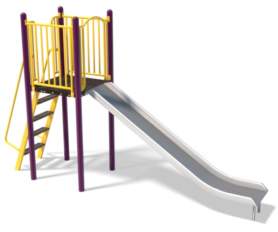 6ft Stainless Slide and Ladder | Henderson Recreation