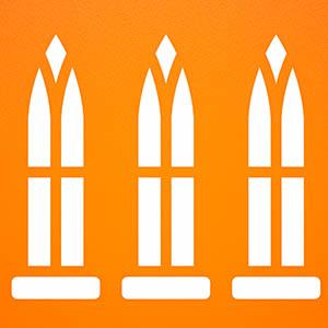 Orange/White/Orange HDPE Plastic