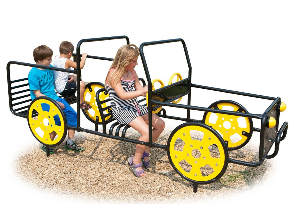 Pickup Truck Play Vehicle for Playground | Henderson Recreation