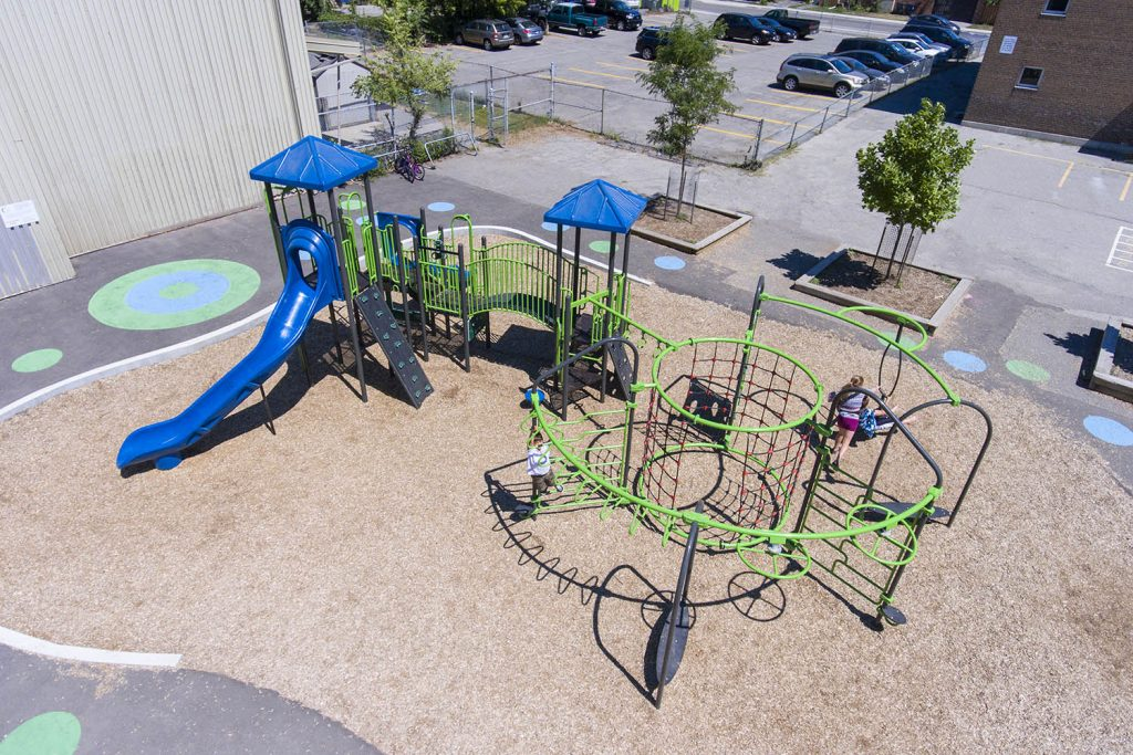 commercial playground equipment installation | Henderson Recreation