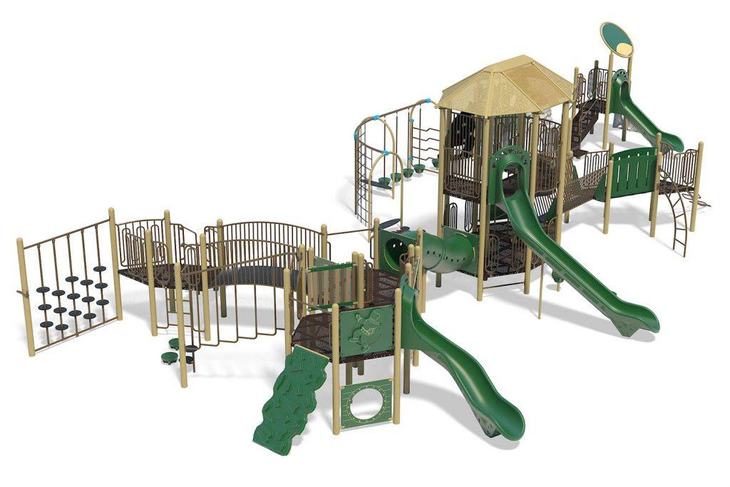 Playground Structure Model B501539R0 | Henderson Recreation