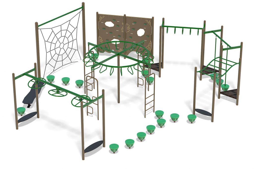 Playground Structure Model B303128R0 | Henderson Recreation