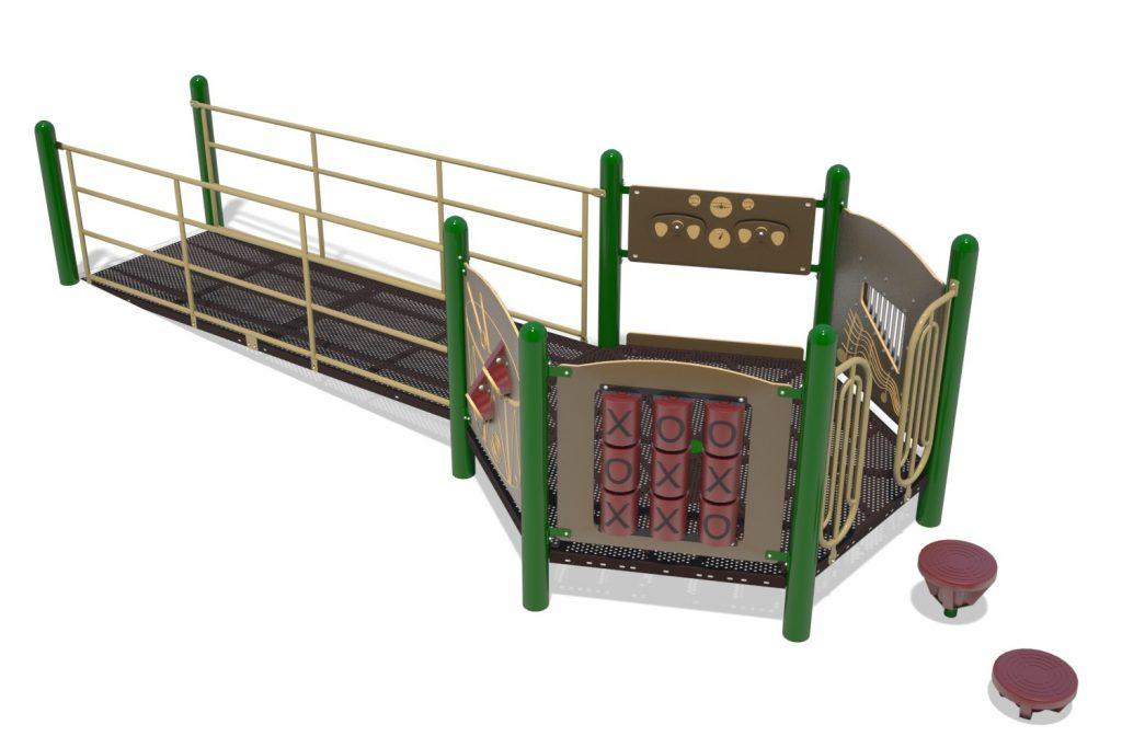 Playground Structure Model B502254R0 | Henderson Recreation