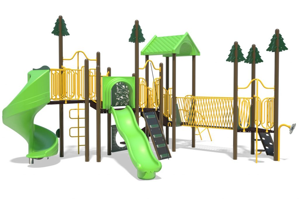 Playground Structure Model B502283R0 | Henderson Recreation
