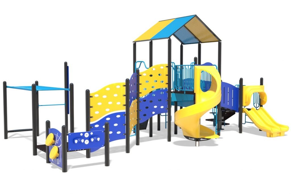 Playground Structure Model B502284R0 | Henderson Recreation