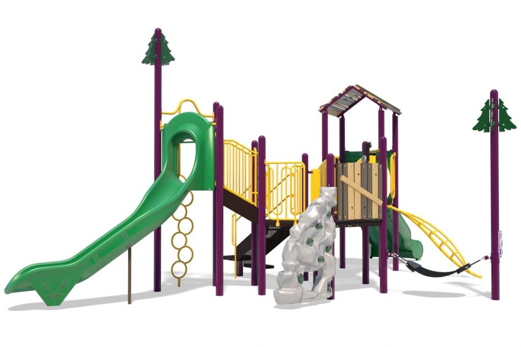 Playground Structure Model B502289R0 | Henderson Recreation
