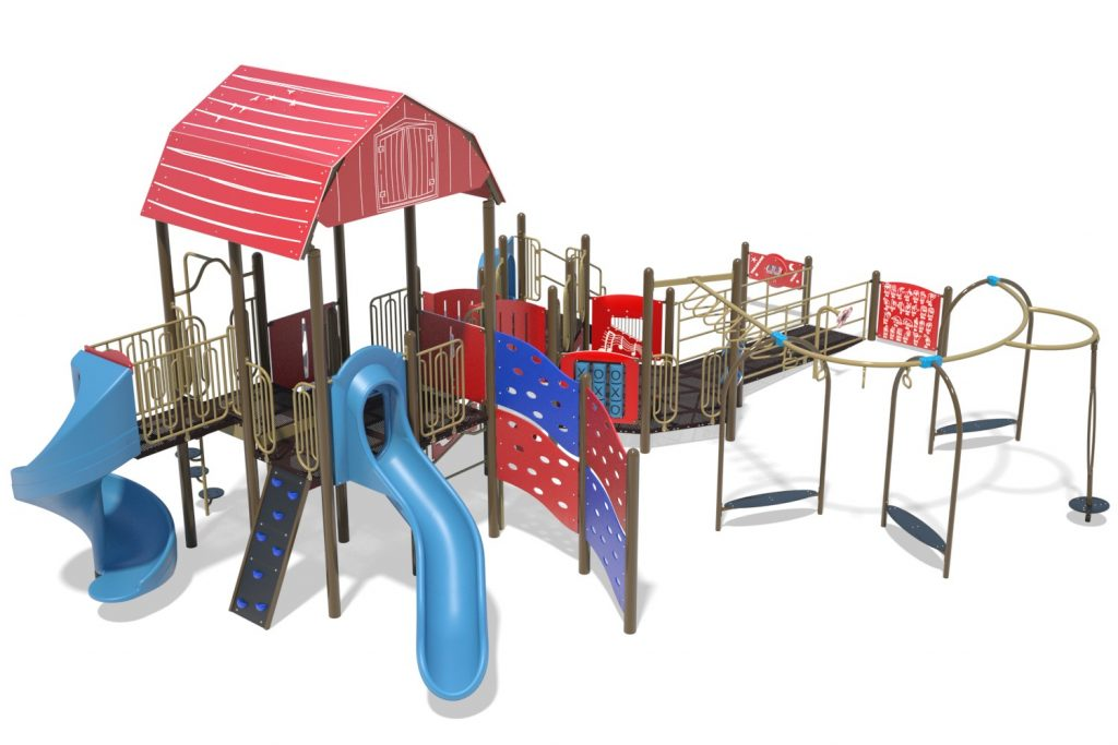 Playground Structure Model B502297R0 | Henderson Recreation
