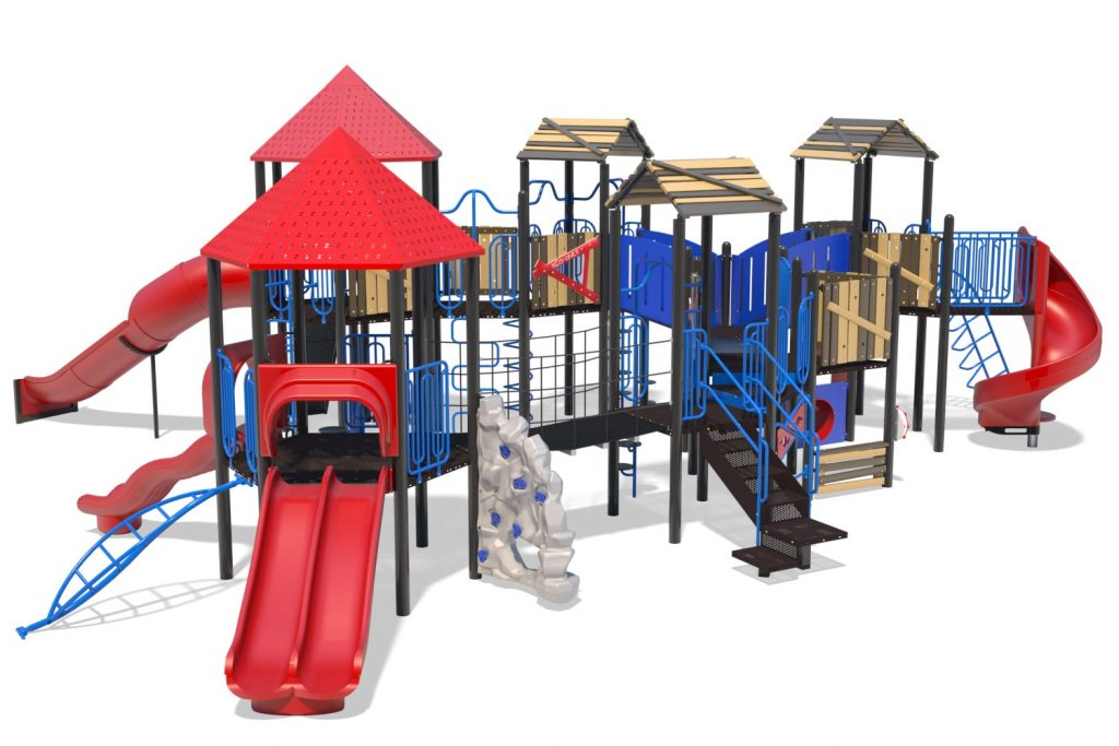 Playground Structure Model B502300R0 | Henderson Recreation