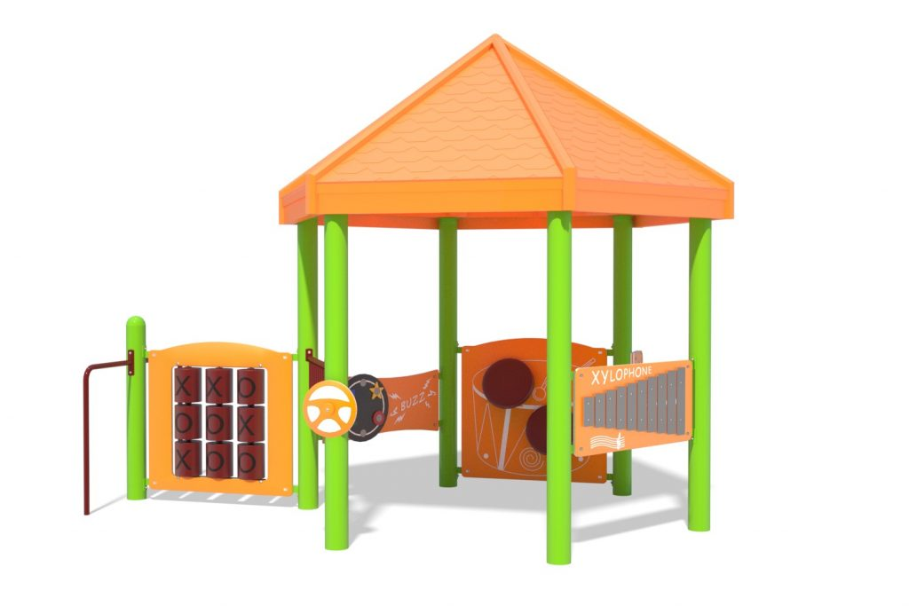 Playground Structure Model B502249R0 | Henderson Recreation