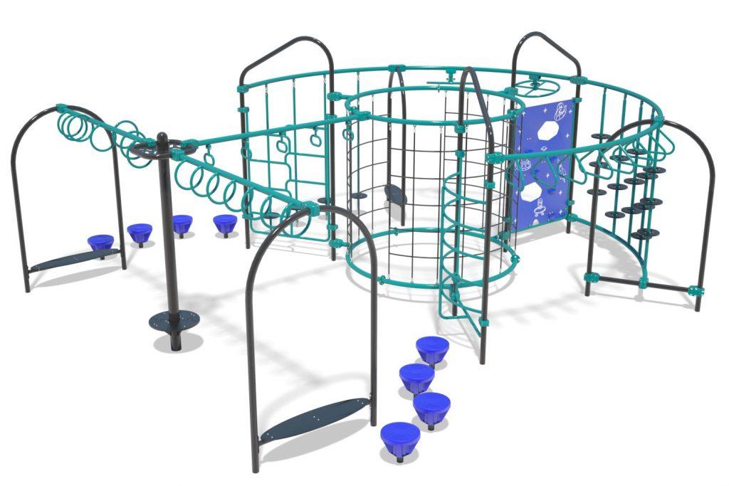 Playground Structure Model OB00459R0 | Henderson Recreation