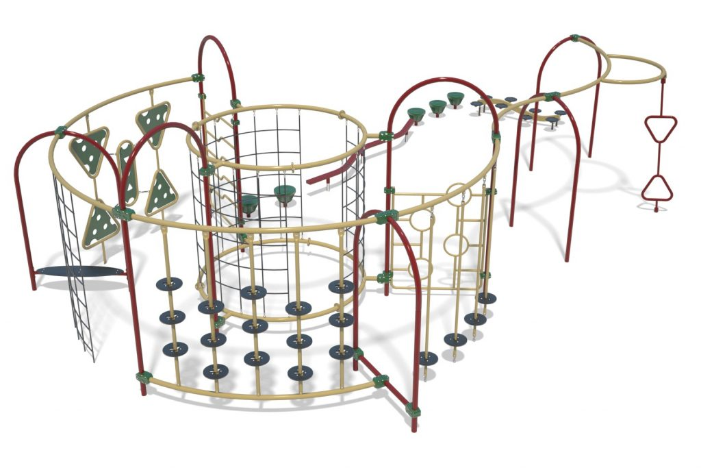 Playground Structure Model OB00460R0 | Henderson Recreation
