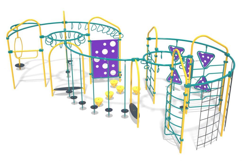 Playground Structure Model OB00461R0 | Henderson Recreation