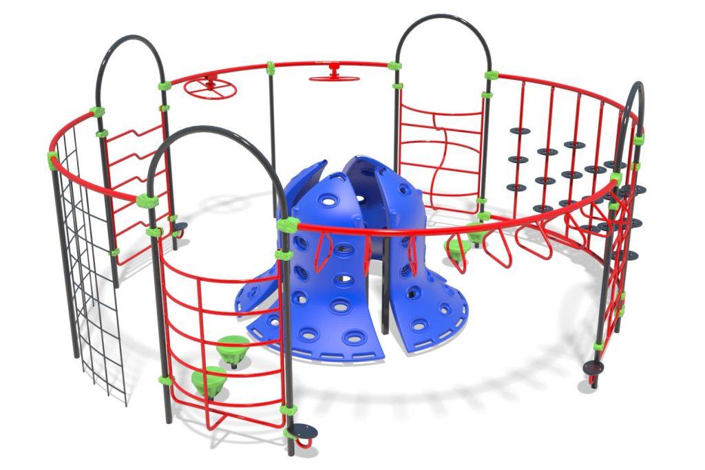 Playground Structure Model OB00463R0 | Henderson Recreation