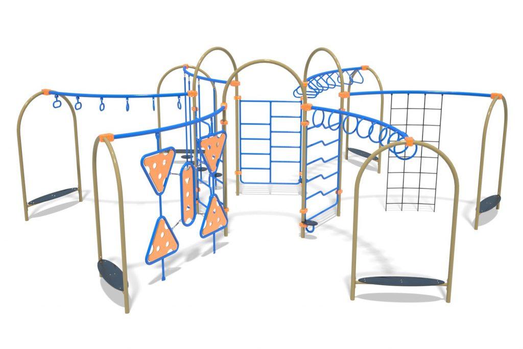 Playground Structure Model OB00464R0 | Henderson Recreation