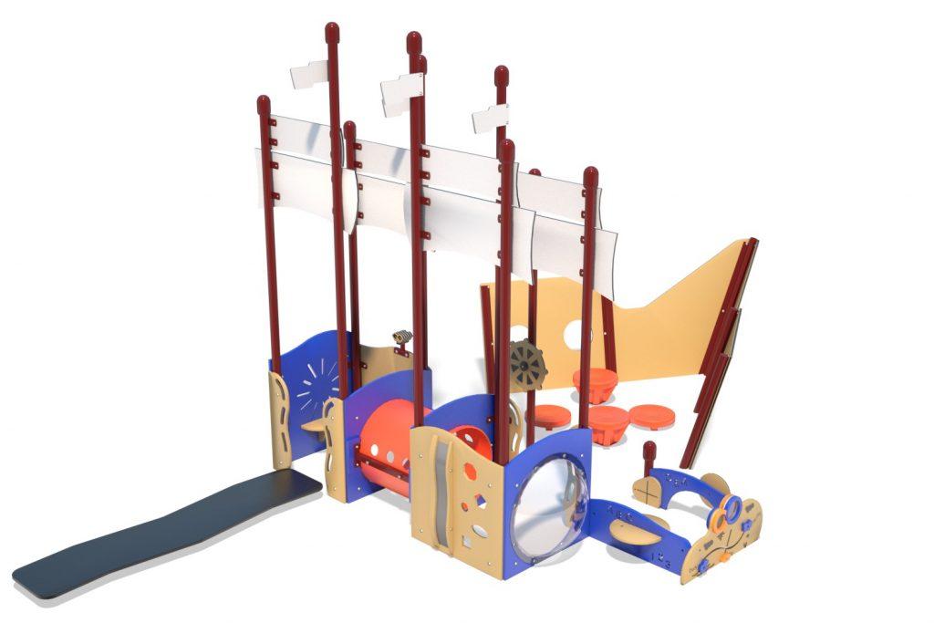 Playground Structure Model PT20077R0 | Henderson Recreation