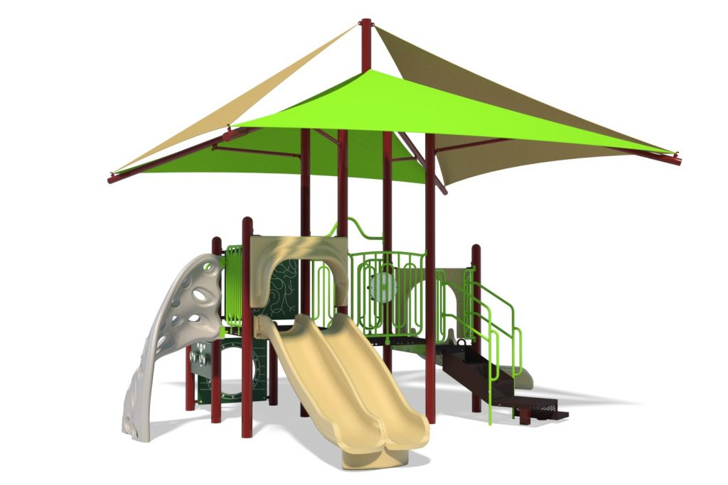 Playground Structure Model B502392R0 | Henderson Recreation