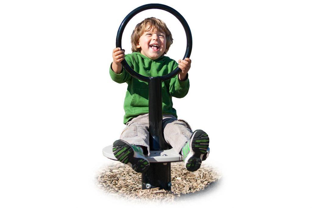 Seated Super Spinner for children | Henderson Recreation