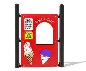 Snow Cone Shop Panel