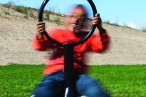 freestanding playground spinners | Henderson Recreation