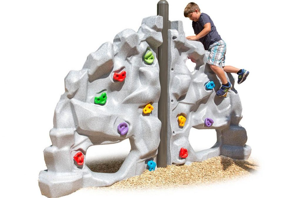 Keeping Kids Close to Nature with Rock Climbing Play Structure!