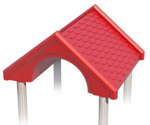 Gable Roof for Playground   Roto Molded Plastic Roof   Henderson Recreation