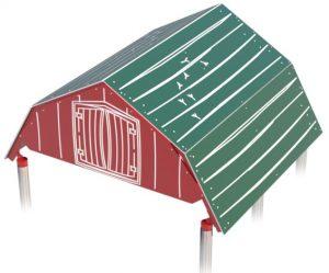 Big Barn Roof for Playground | Playground Fun for Children