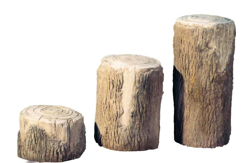 Log Steppers for Playground | Natural Outdoor Play Component
