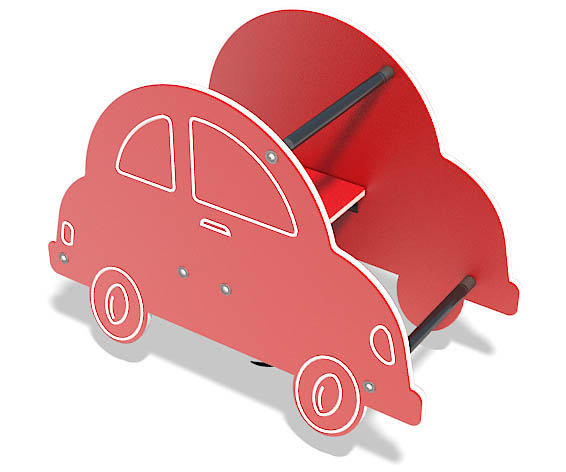 car motion toy for playgrounds