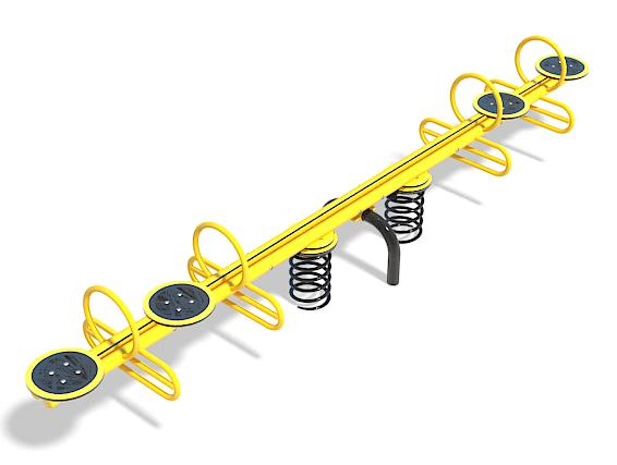 Four Seater Spring See Saw
