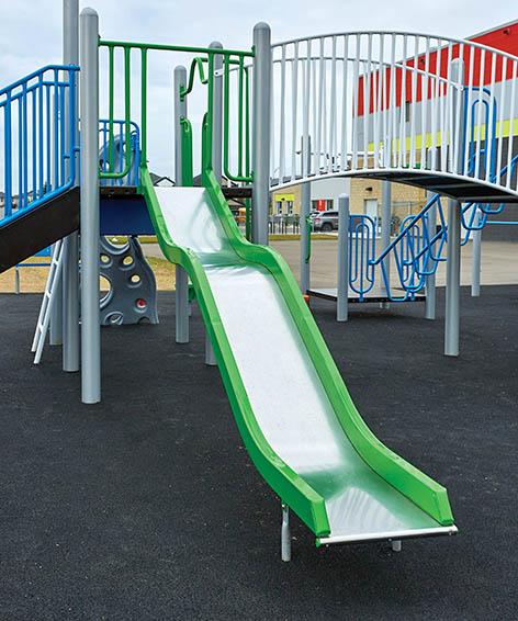 Wavy Stainless Steel Slide for Playground | Henderson Recreation