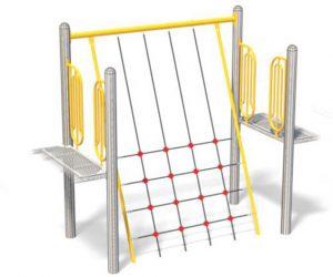 Crooked Net for Playground | Versatile Playground Component