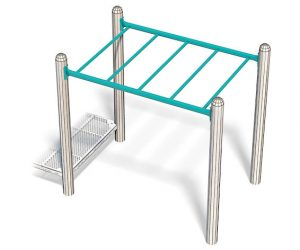 6ft Overhead Ladder For Playground | Traditional Overhead Ladder