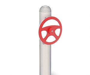 steering wheel playground equipment
