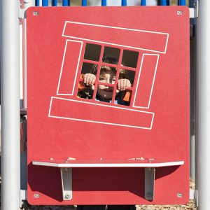 Play Bench Panel for playground | Henderson Recreation