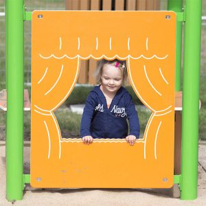 Puppet Theatre For Playground | Compact Theatre A Perfect Showcase