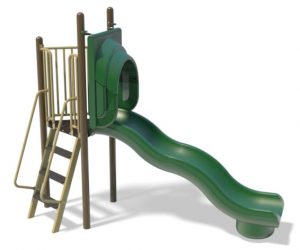 6ft Freestanding Wave Slide for Playground | Henderson Playground